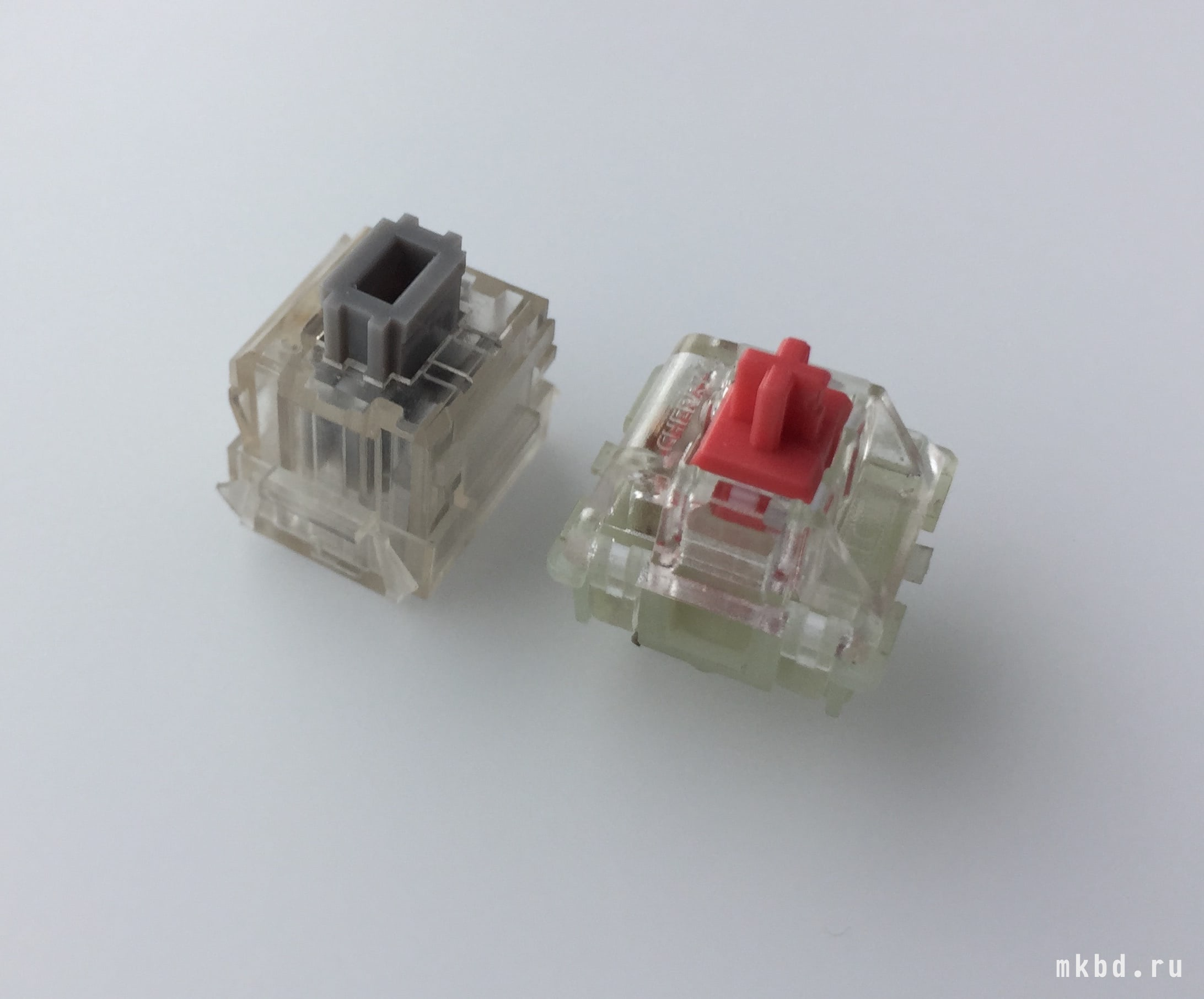 Matias Quiled Сlick and Cherry MX Red RGB Silent switches